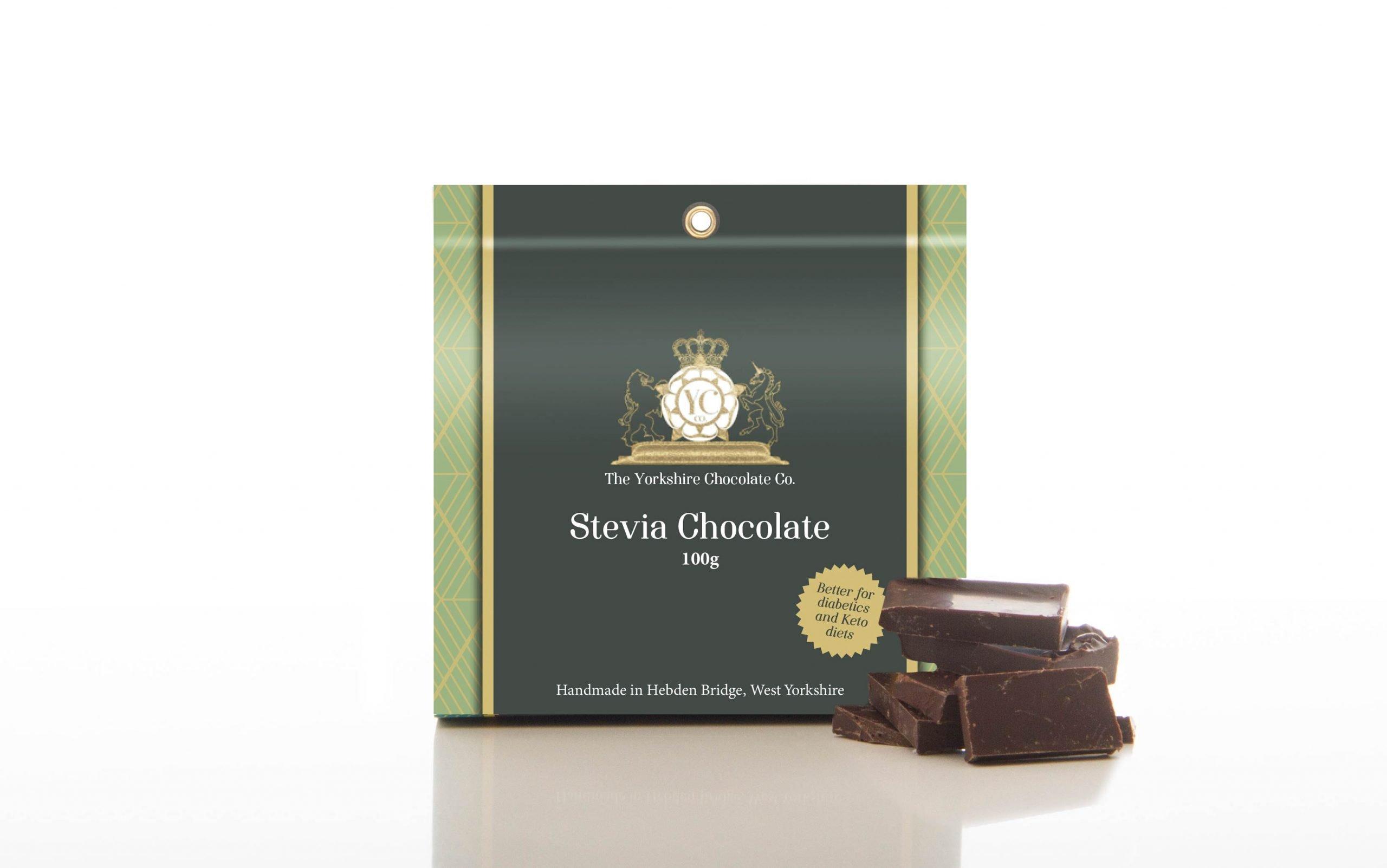 Box of Stevia Chocolate